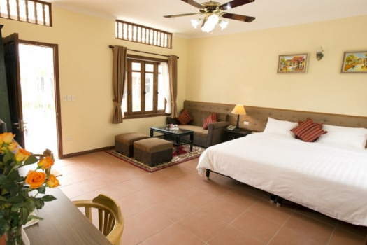 Biệt thự Phố Tây – French villas (double deluxe)