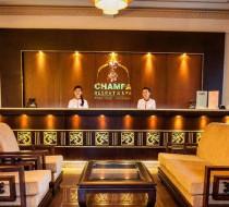 Quầy lễ tân Champa Resort & Spa Phan Thiết