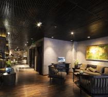 Sảnh khách sạn Alagon Zen Hotel & Spa Sài Gòn