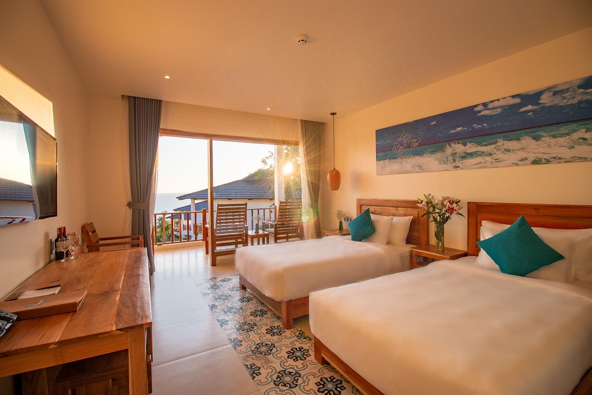 Deluxe Connecting Ocean View Camia Resort & Spa Phú Quốc