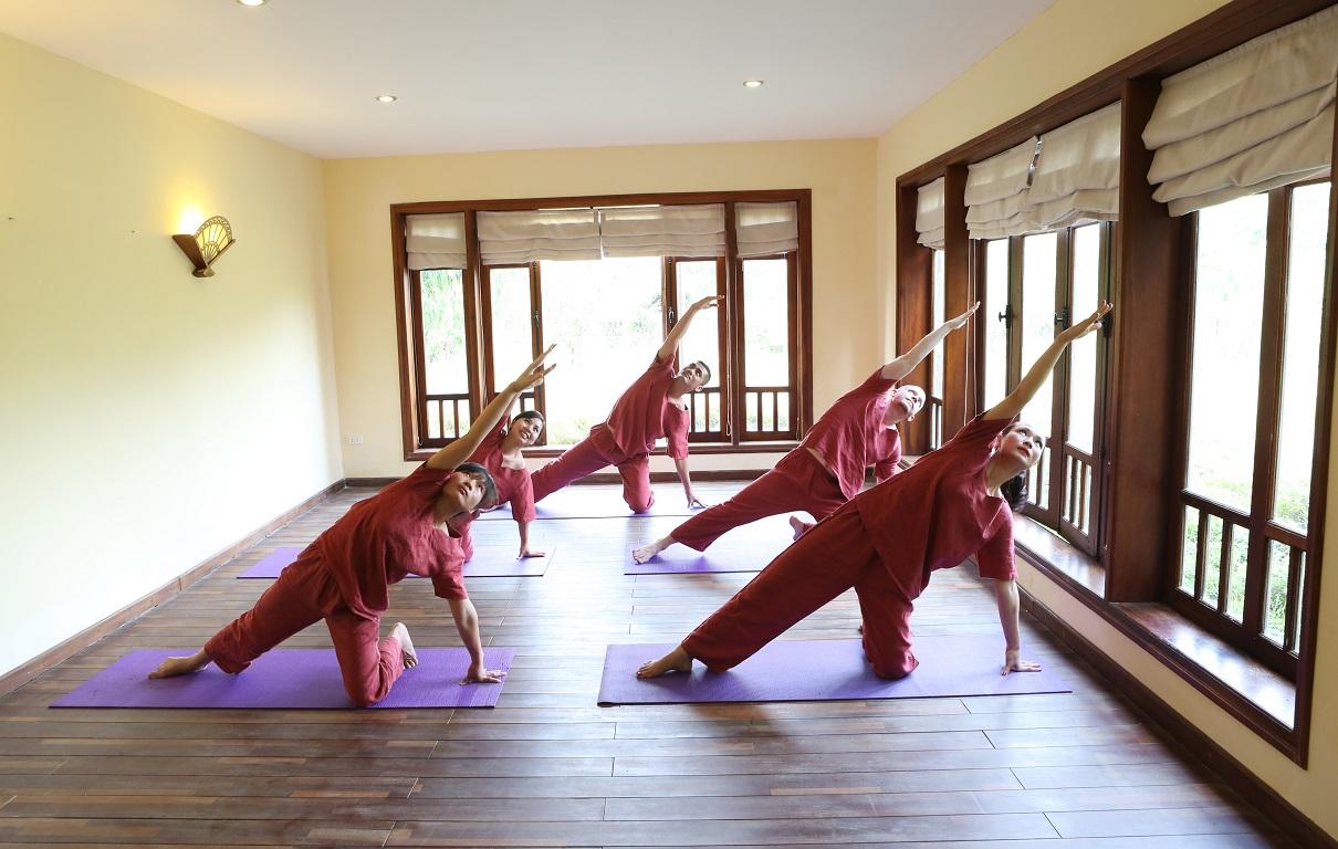Phòng Yoga Emeralda Resort Ninh Bình