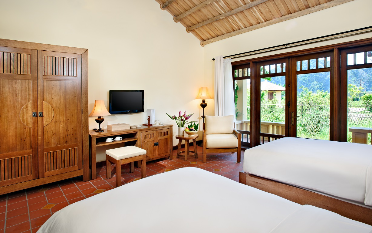 Phòng ngủ Superior Room Twin