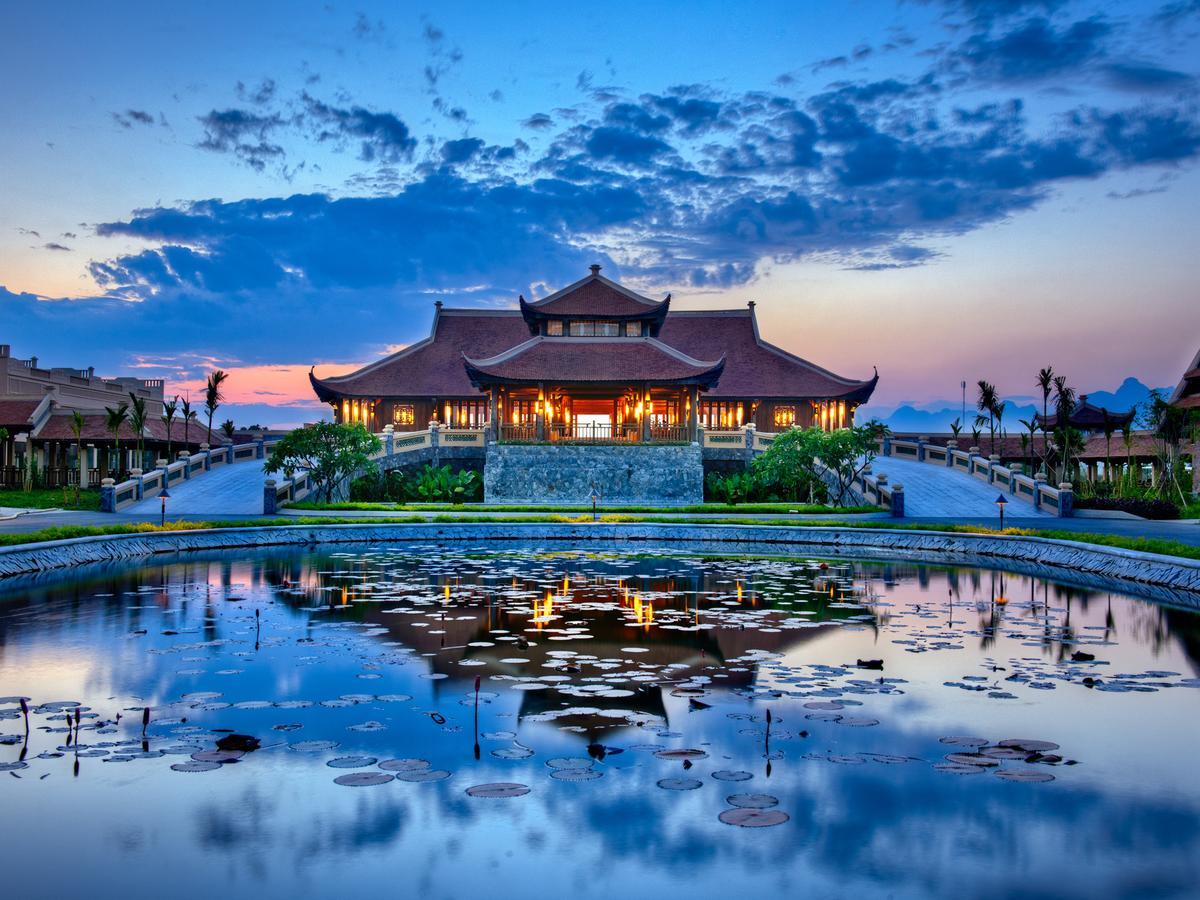 Toàn cảnh Emeralda Resort Ninh Bình
