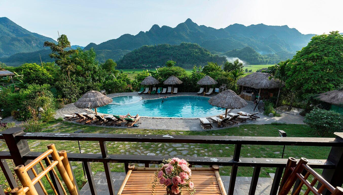 Bể bơi Mai Châu Ecolodge