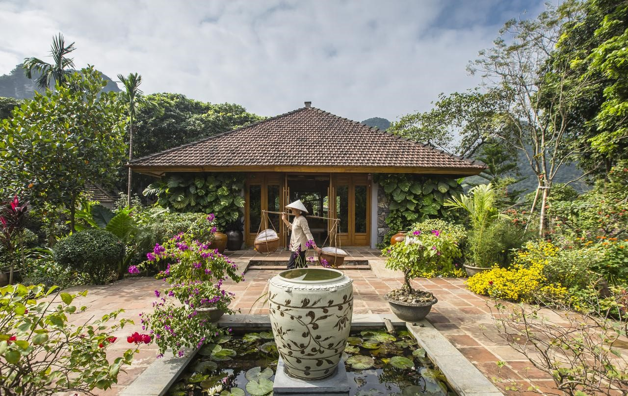 Quang cảnh Tam Cốc Garden Resort