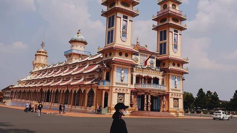 Checkin tòa thánh Tây Ninh