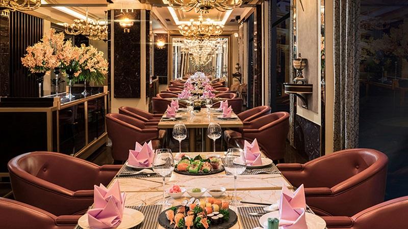 nhà hàng akoya tại Vinpearl Resort & Spa Hạ Long