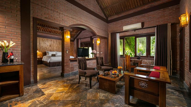 phòng biệt thự ở Asean Resort & Spa Thạch Thất