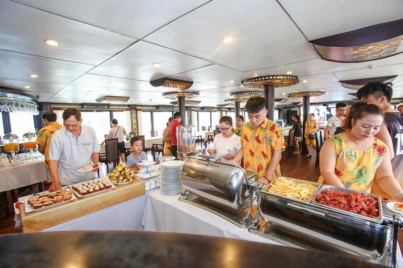 Du thuyền Starlight buffet
