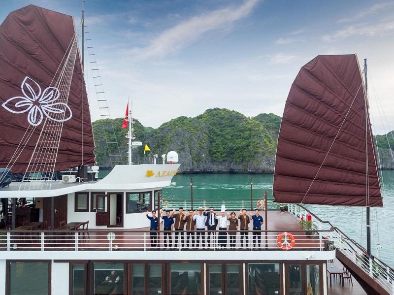 Du thuyền Azalea cấu trúc du thuyền