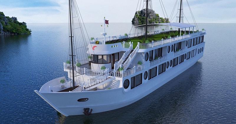 Du thuyền Calypso cấu trúc du thuyền