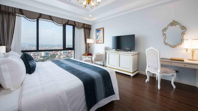 Phòng Deluxe tại Vinpearl Hotel Lạng Sơn