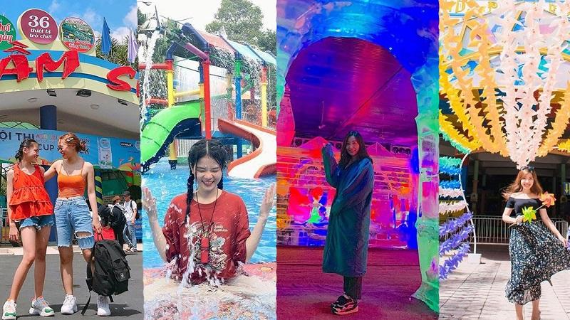 Check in các điểm vui chơi ở công viên văn hóa Đầm Sen