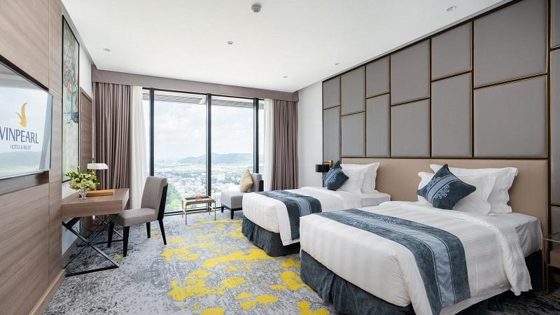 phòng khách sạn Vinpearl Thanh Hóa