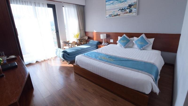 Hạng phòng deluxe tại Mento Hotel Quy Nhơn