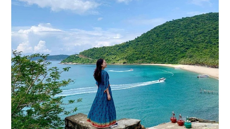 Sống ảo trên ngọn đồi Cù Lao Chàm cực đẹp