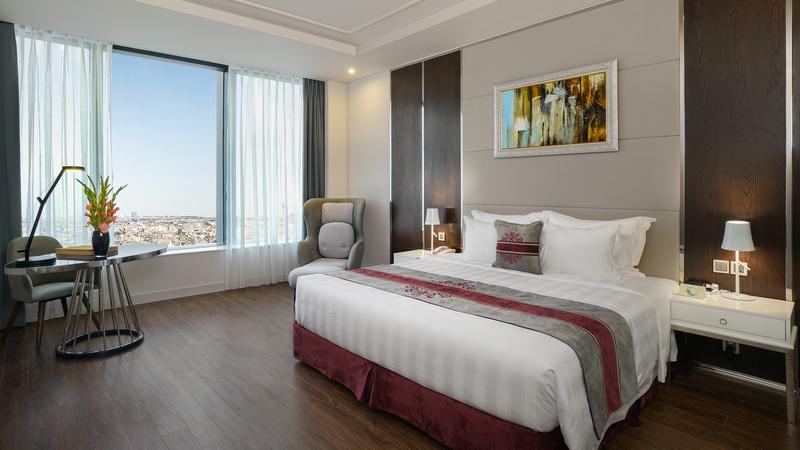 phòng nghỉ ở Vinpearl Hotel Hà Tĩnh