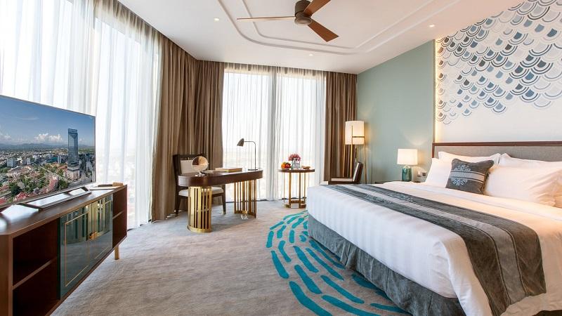 phòng nghỉ tại Vinpearl Hotel Huế