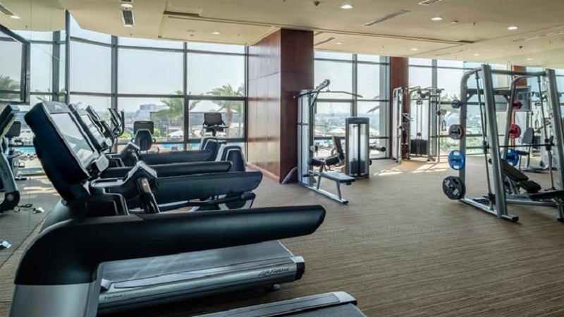 Phòng gym Vinpearl Hotel Cần Thơ