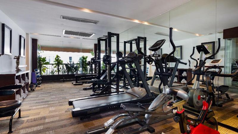 Phòng tập gym của khách sạn A&Em Sài Gòn