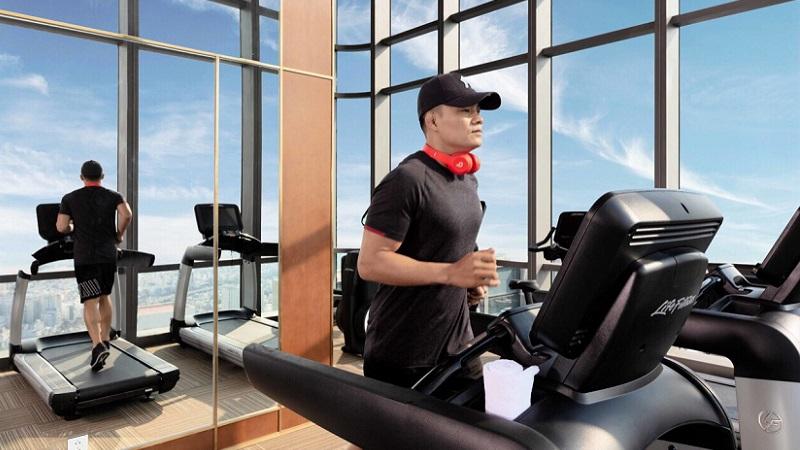 Phòng gym tại Vinpearl Luxury LandMark 81