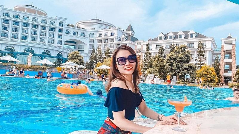 hồ bơi Vinpearl Resort & Spa Hạ Long