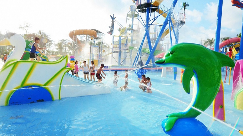 Hồ bơi dành cho trẻ em tại Vinpearl Hotel Hà Tĩnh