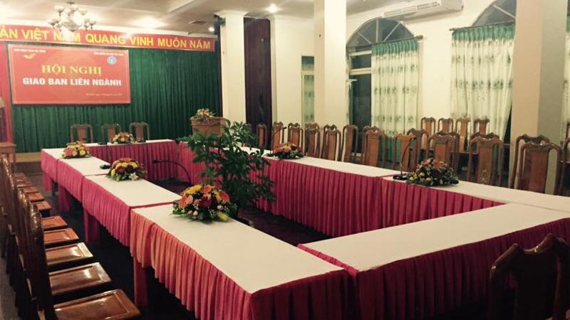 Phòng hội nghị khách sạn Thiên Ý