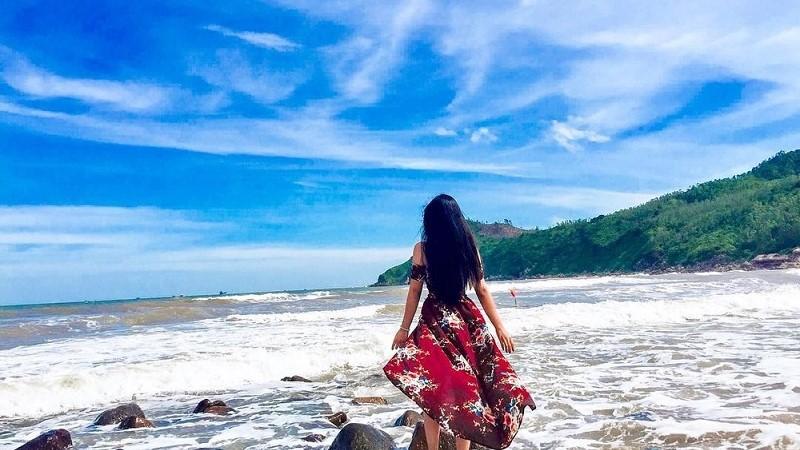 Check in bãi biển Sầm Sơn