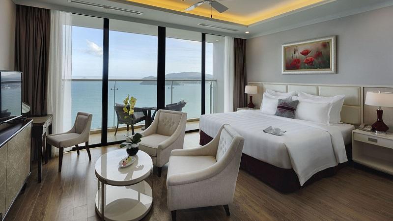 phòng nghỉ ở Vinpearl Condotel Beachfront Nha Trang
