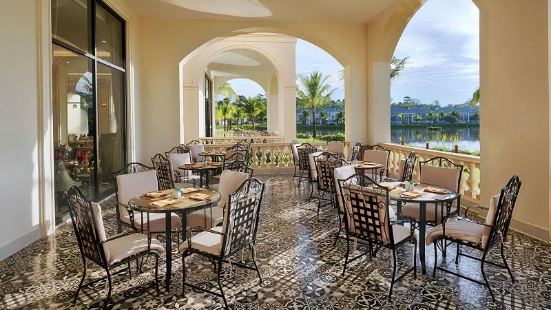 Nhà hàng ở Vinpearl Discovery Coastalland Phú Quốc