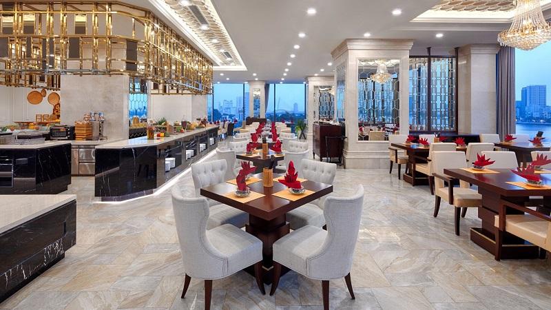 nhà hàng ở Vinpearl Condotel Riverfront Đà Nẵng