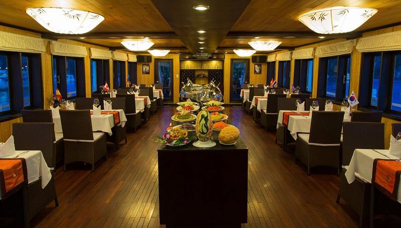 Nhà hàng trên du thuyền Syrena