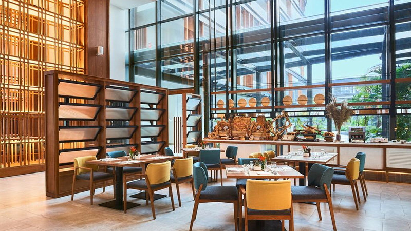 Nhà hàng tại Mövenpick Resort Waverly Phu Quoc