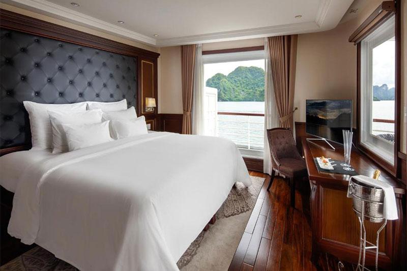 Du thuyền Paradise phòng captain's view