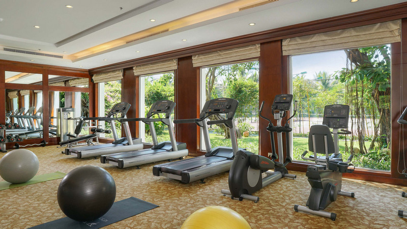 phòng gym vinpearl resort & spa Đà nẵng
