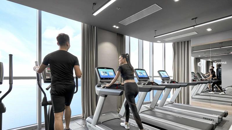 Phòng tập gym ở Eastin Grand Hotel Nha Trang