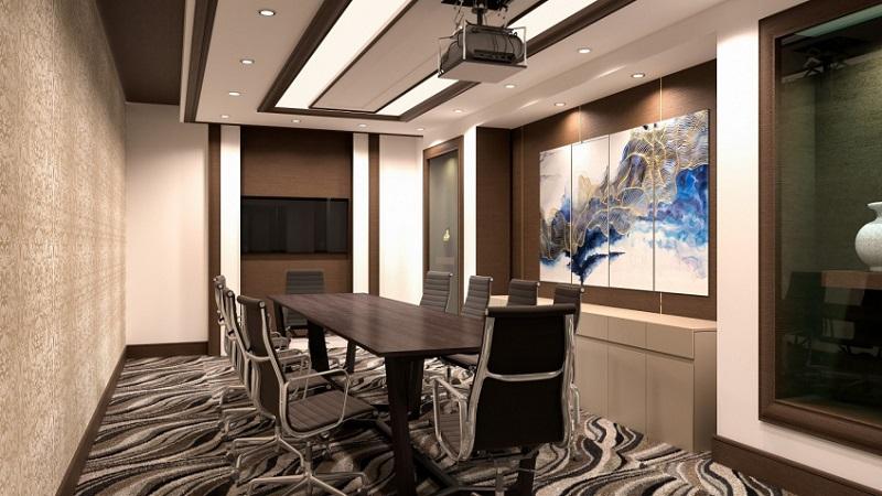Phòng họp bên trong khách sạn Vinholidays Fiesta Phú Quốc