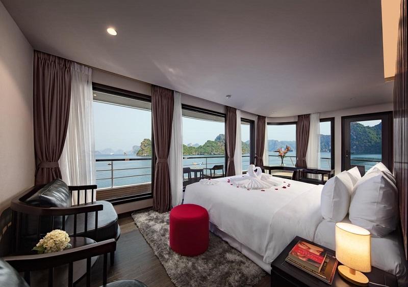 Phòng nghỉ Golden Pearl trên du thuyền Scarlet Pearl