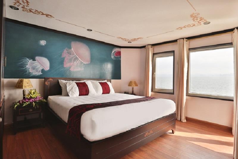 Phòng suite trên du thuyền Hương Hải Sealife