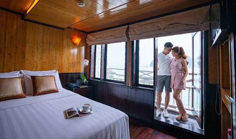 Phòng nghỉ trên du thuyền Syrena