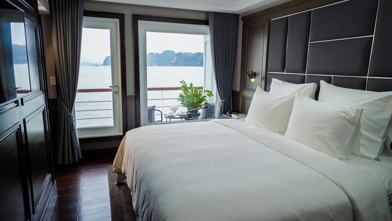 Phòng grand balcony trên du thuyền Paradise Grand