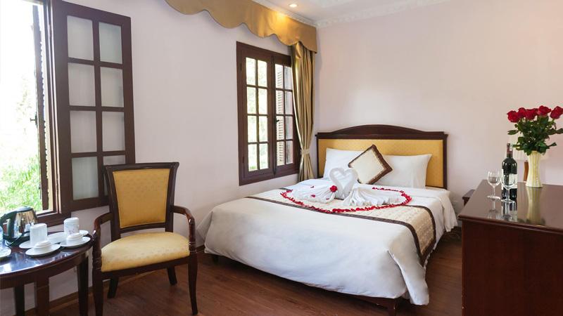 Phòng nghỉ tại khách sạn Công Đoàn