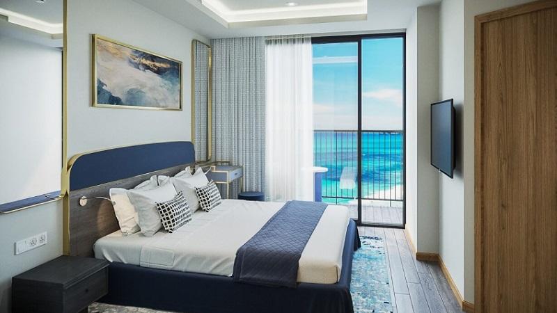 Phòng nghỉ tại FLC Grand Quy Nhơn