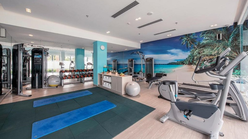 Phòng tập gym ở Sol by Melia Phú Quốc