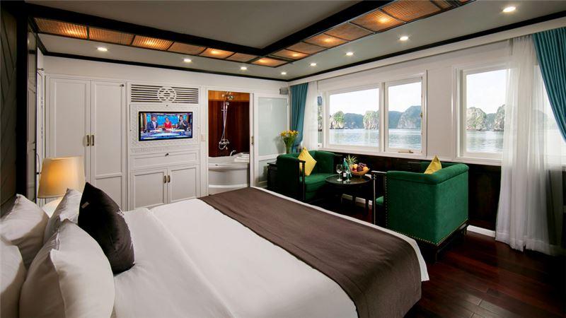 phòng trên du thuyền La Regina