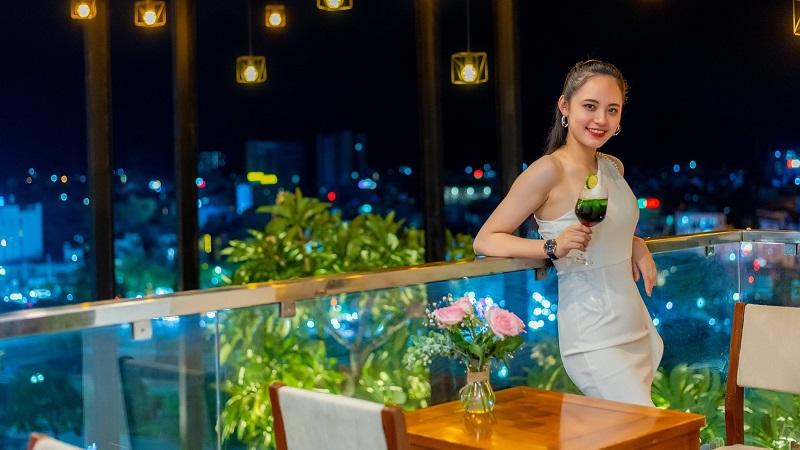 Quầy bar tại Mento Hotel Quy Nhơn