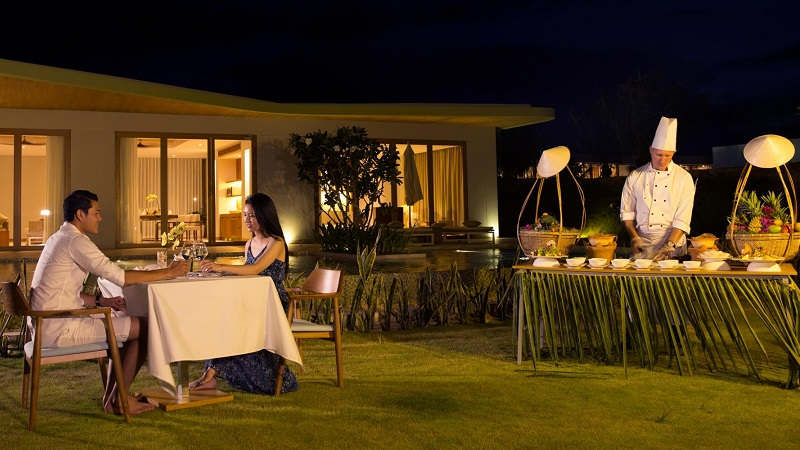 dịch vụ Le Chef in – villa dining