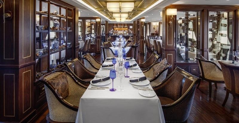 Du thuyền Paradise Không gian nhà hàng