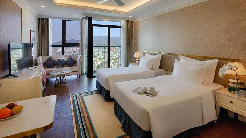Phòng căn hộ Studio ở Vinpearl Condotel Riverfront Đà Nẵng